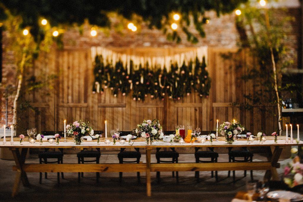 Sala weselna - stodoła