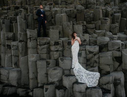sesja ślubna islandia