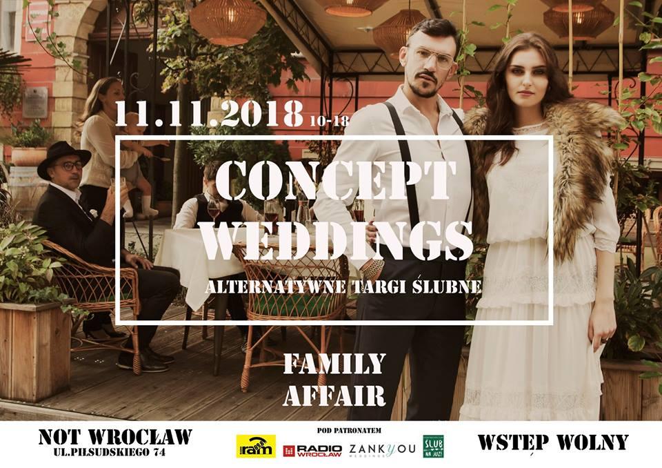 Concept weddings plakat
